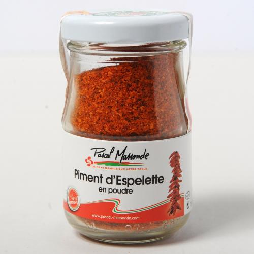 Piment d'Espelette en poudre - Verrine 50g