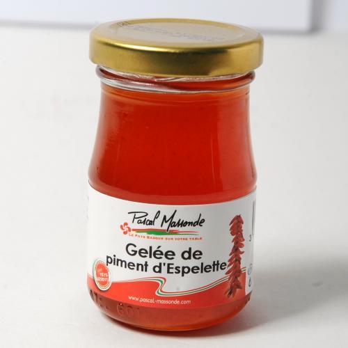 Gelée de Piment d'Espelette - Verrine 100g