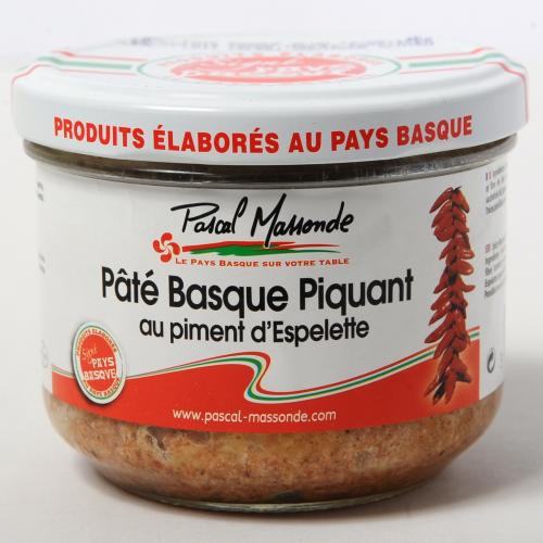 Pâté Basque Piquant au Piment d'Espelette - Verrine 180g