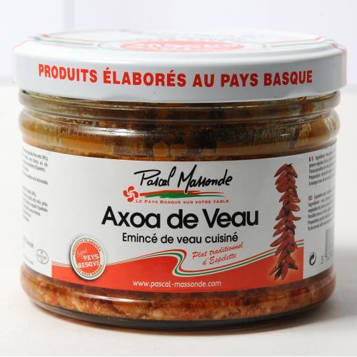 Axoa de Veau - Verrine 380g