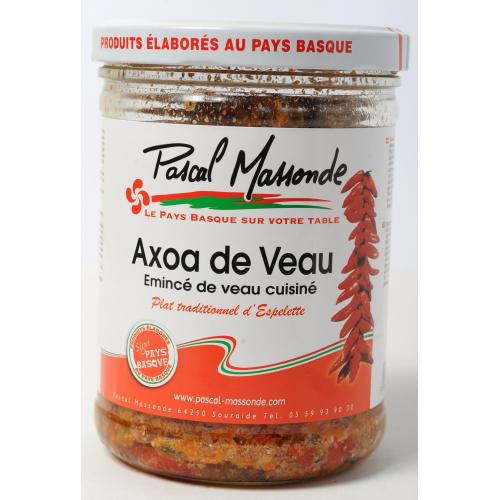 Axoa de Veau - Verrine 750g