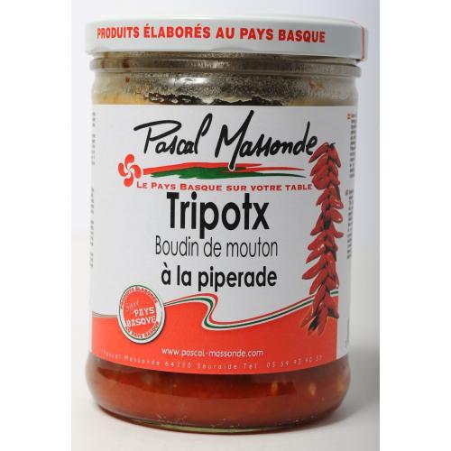 Tripotx à la Piperade - Verrine 750 g