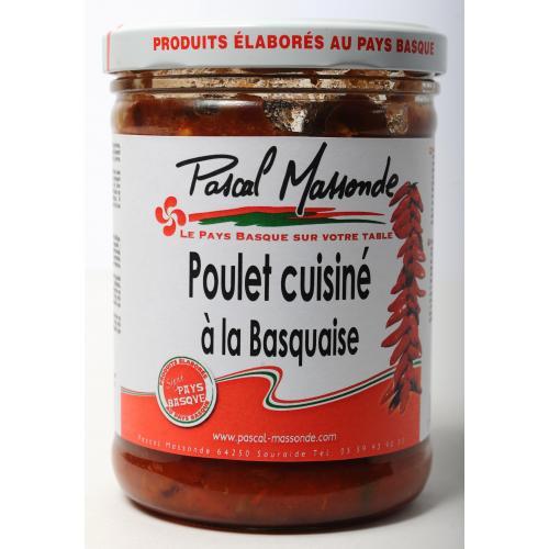 Poulet Basquaise - Verrine 750g