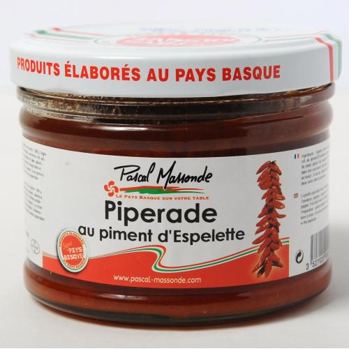 Piperade au Piment d'Espelette - Verrine 380g