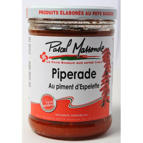 Piperade au Piment d'Espelette - Verrine 750g