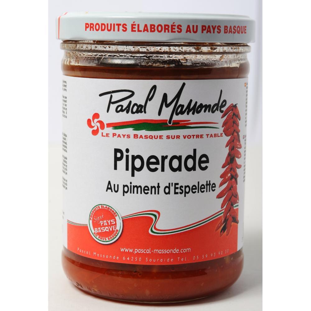 Piperade au piment d'Espelette