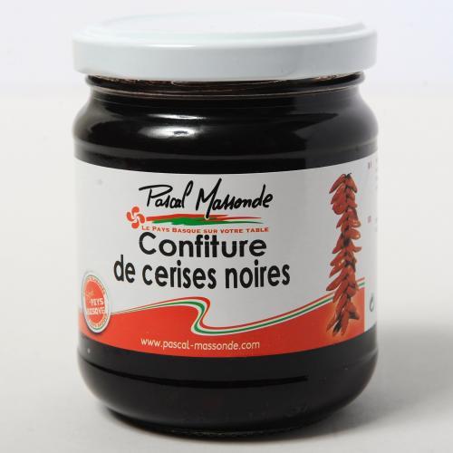 Confiture de Cerises Noires - Verrine 250g