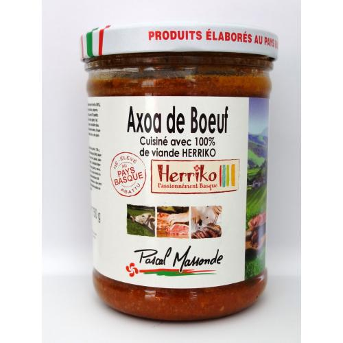 Axoa de Bœuf Herriko - Verrine 750g