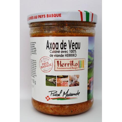 Axoa de Veau Herriko  - Verrine 750g