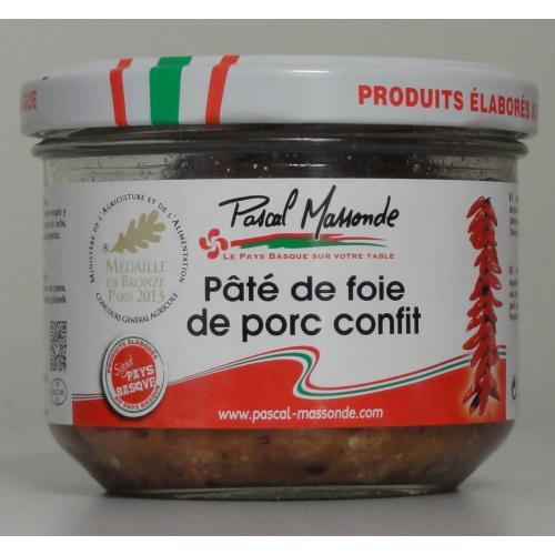 Pâté de Foie de Porc Confit - Verrine 180g
